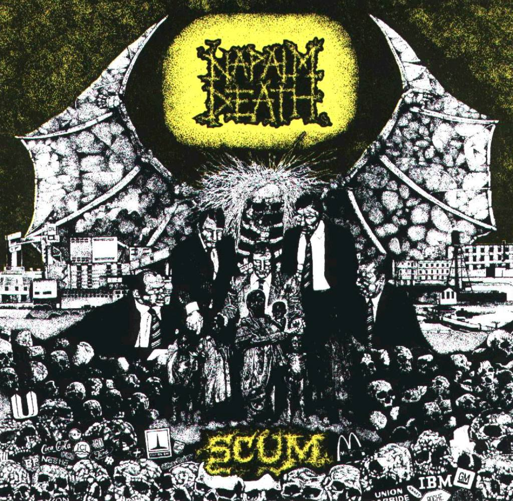 Napalm Death Scum Remastered Edition Out Now The
