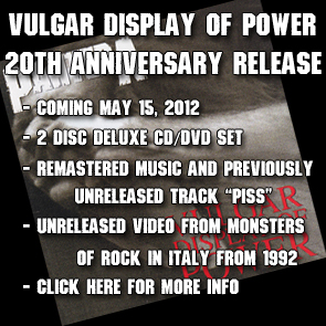 vuglar display of power 20th